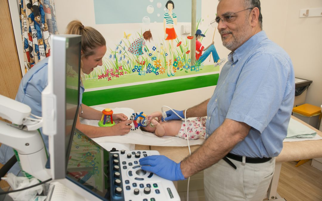 Charity-funded echo machine helps tiny tickers in Rotherham