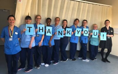 Showing appreciation and thanks on International Nurses Day