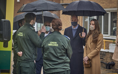 Royal patrons visit London ambulance service projects funded by NHS Charities Together